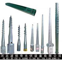 河北厂家专业生产 光伏螺旋桩 销售太阳能地桩