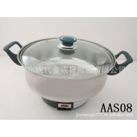 厂家直销不锈钢汤锅  平底锅  蒸锅 奶锅  油炸锅
