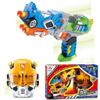 厂家批发 铠力 带声光面具 超级经典款变形金刚软弹枪  儿童玩具