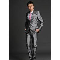 时尚西装 男式西服套装韩版潮修身休闲职业装正装