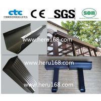 铝合金成品天沟/工厂生产销售并提供安装指导/颜色规格齐全