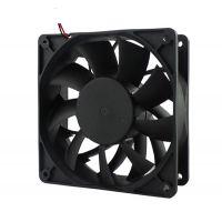 美风厂家直销12038 12V 24V 48V散热风扇 UV LED服务器机柜大风量涡轮增压风扇