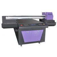 新工艺!艺术背景墙彩色喷绘机,玻璃瓷砖打印机,标示牌印刷机万能uv平板打印机