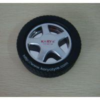 【热卖】轮胎形橡胶烟灰缸,密胺烟灰缸,广告礼品