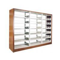 供应学校钢木书架,图书馆书架图片,钢制书架厂家