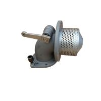 3寸手动铝合金海底阀罐车配件油气回收系列