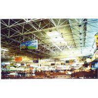 供应商场超市展厅仓库专用钢结构网架施工