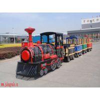 无轨小火车、迷你电动小火车公园娱乐设备许昌巨龙游乐