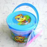 桶装五彩橡皮泥 儿童彩泥玩具 地摊10元货源批发特价