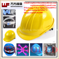 China sale cheap plastic injection Industrial Safety helmet mould supplier/OEM Custom design injection plastic Industrial Safety helmet mold