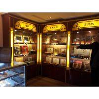 灵海展柜 厂家直销 设计参茸高柜 展示柜订做 玻璃柜台
