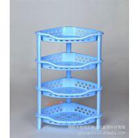 塑料架 碗碟架 四层角型组合架 塑料置物架 收纳架 开放式层架