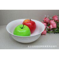 雅韵系列8寸反口汤碗水果碗面碗菜碗陶瓷餐具至尚美家