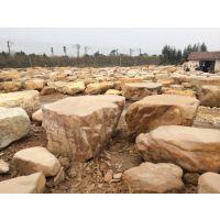 供应黄蜡石批发基地直销园林台面石、广东园林平面踏脚石、福州平面石批发