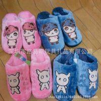 厂家按图定做 加厚加绒棉拖鞋 专业定制冬季保暖拖鞋棉鞋 毛拖鞋
