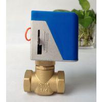 特价促销 中央空调风机盘管电动阀 DN20 AC220V电动二通阀VA-7010