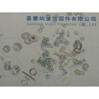 DIN6798A-M27防松锁紧弹性外锯齿垫片,卡勒屿金紧固件有限公司表面镀蓝白锌50件/包