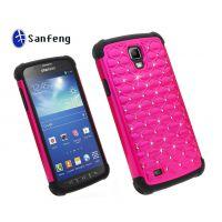 欧美热销 Samsung i537/i9295贴钻满天星手机套 炫彩手机壳 外壳