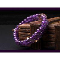 招商加盟,水晶坊珠宝加盟,紫水晶手链
