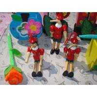 动漫卡通人物匹诺曹玩偶挂件站偶家居儿童书房摆饰品赠品批发订做