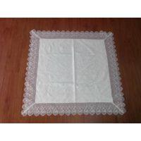 厂家直销、新款优质、水溶花边桌布、台布小额批发厂(图)