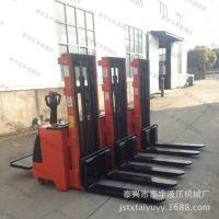 【诚信批发】2吨升高1.6米踏板式全电动堆高车 可选无腿式配重车