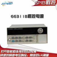 长期回收二手 安捷伦 66311B程控电源数字手机测试直流电源电压输出:0-15V 电流输出:0-3
