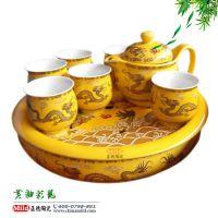 嘉士凡生产粉彩功夫茶具 颜色釉陶瓷茶具 精美茶具礼品