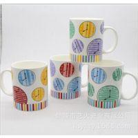 卡通陶瓷杯 茶水杯 耐高温杯 醴陵陶瓷批发
