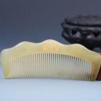 美发梳 可加工订制 绵羊角大半 舒筋通络保养头发 手感厚实纯天然