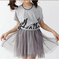 童装亲子装儿童t恤 女童 短袖 韩版女童短袖T恤加盟代发货免费