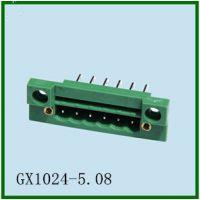 穿墙式端子插拔式接线端子KF2EDG-5.08/GX1024-5.08控制器板对板