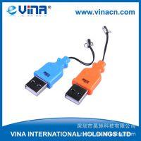 款 USB2.0 迷你读手机卡 读卡器带挂绳