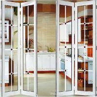 铝合金折叠门,厨房门/客厅门/卧室门,隔音隔热