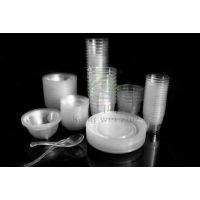 供应2014年【江苏一次性水晶餐具】进入到我们的家庭