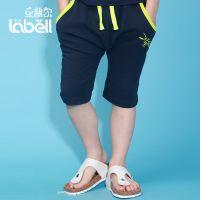 男童装夏季休闲五分裤中大童裤儿童夏装2014新款男孩少年夏天短裤