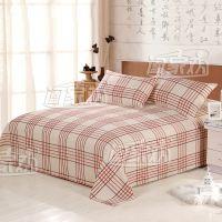 阖家欢 中式家纺 鲁锦老粗布 纯棉床上用品 三件套 彩虹桥