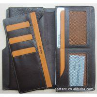 供应头层真皮多功能长短钱包、内带嵌入嵌套式卡包卡夹长钱包