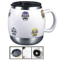 【商务礼品】美国傲仕杯 陶瓷脸谱杯系列7953ML6