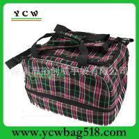 广东手袋厂家 提花料旅行包 大号旅行袋 韩国行李包 出口旅游包