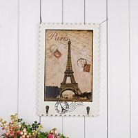 时光家居 巴黎邮风墙面挂钩 装饰相框金属挂钩 欧式木质画挂钩