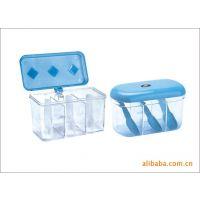 供应三格调味盒 广告促销礼品调味盒