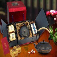 精工堂老铁壶 和记隆月饼*2 灵芝茶(1盒100克) 中秋礼品定制