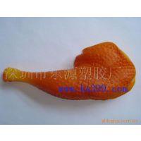 广东省深圳 专业玩具宠物玩具啃咬玩具pvc鸡腿供应猫玩具狗玩具oem生产加工厂