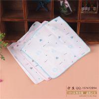 萌宝儿纯棉儿童喂奶巾 婴儿高品质奶帕 宝宝全棉手帕 3条装 1302