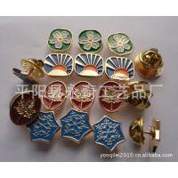 厂家订制金属胸针,服装配饰胸针,太阳花小胸针。