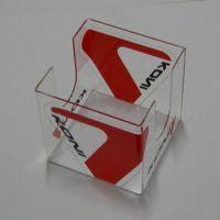 【亚克力制品厂】厂家生产供应有机玻璃 便签盒 物美价廉新款
