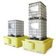 安徽贝辉供应IBC集装桶盛漏托盘5469-YE IBC集装桶防泄漏托盘 IBC集装桶油桶托盘