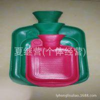 怀旧充水热水袋 冲水热水袋 大号暖手宝 橡胶注水暖水袋