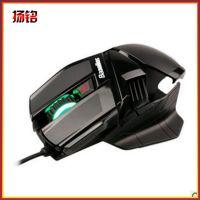 供应搏展 鬼斧X1六键发光电脑游戏鼠标 USB有线游戏鼠标